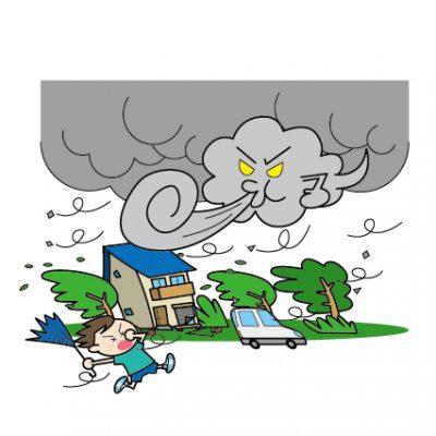 台風のでき方や仕組みを知りたい!低気圧との違いは?何号と呼ぶ基準は?