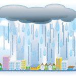 ゲリラ豪雨の原因と2つの対策!発生しやすい時間や前兆は?