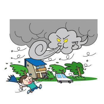 台風が来る前に備えることをマンション・一戸建て別に紹介!食べ物は何を備える?
