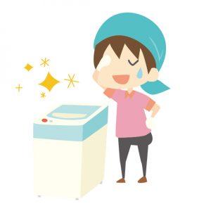 洗濯機を掃除する頻度はどのくらい?臭いをとる掃除方法も紹介!